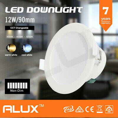 12W Led Downlight Kit Samsung Led Non-Dimmable 90Mm Cutout Warm/Cool White