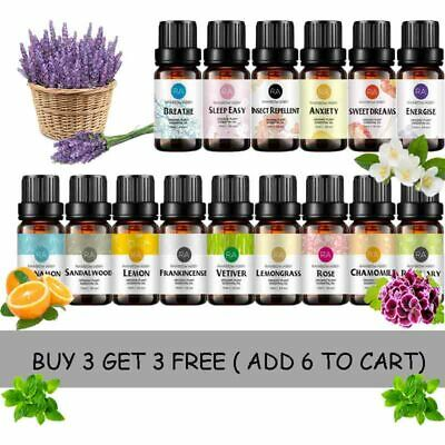Pure Essential Oils 30ml Aromatherapy Natural Therapeutic Essential Oils New