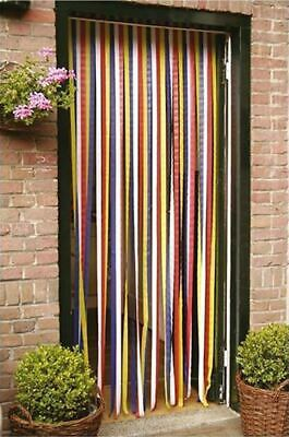 Plastic Door Curtain Strips.Door Strip Curtain Plastic Strips Fly Insect Stop Striped