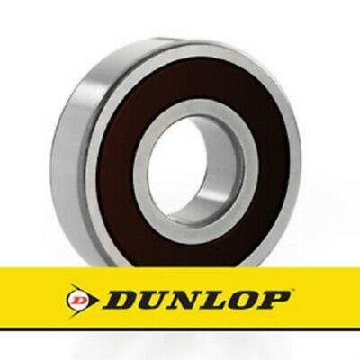 6206-2RS BEARING BY DUNLOP IN SEALED BOX WITH HOLOGRAM. SIZE: 30mm x 62mm x 16mm
