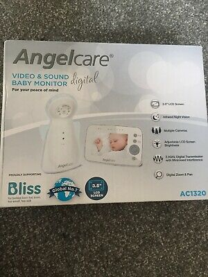 Brand New Angelcare sound and video baby monitor AC1320 (UK Plug)