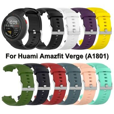 Soft Silicone Watch Band Wristband Bracelet Strap for Huami Amazfit Verge 3