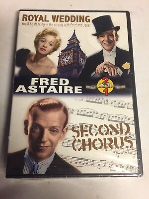Fred Astaire-2 Pack:Royal Wedding/Second Chorus(DVD, 2003) Brand New Sealed!