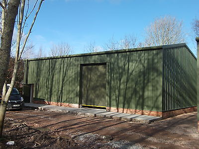 Insulated Omega Steel Framed Building | 10mx16.5m | Workshop | Omega Steel No 14