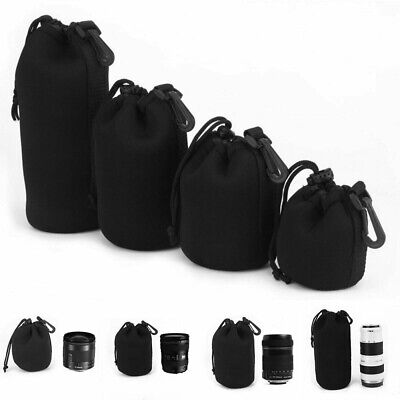 Waterproof Neoprene DSLR Camera Lens Carry Case Protector Bag Pouch - S M L XL