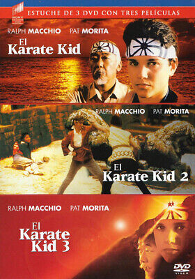 El Karate Kid / El Karate Kid 2 / El Karate Kid 3 (Triple Feature) (Spanis (Dvd)