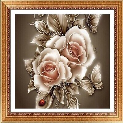 UK Flower Mother Full Drill DIY 5D Diamond Painting Embroidery Cross Stitch FE