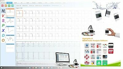 Software EDAN x Registratore ECG Holter - Recorder