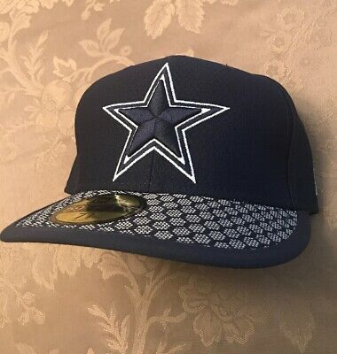 5c765b8b281 Men s Dallas Cowboys New Era Sideline Official 59FIFTY Fitted Hat Cap NWT 7  ...