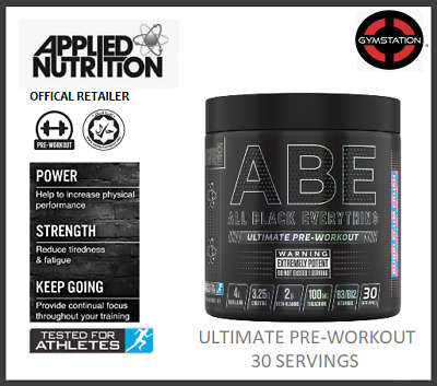 Applied Nutrition ABE All Black Everything Pre Workout 30 serving+ 1st Class P&P