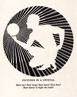 """Original Art Deco Vintage Print 1937 Don Blanding """"Pictures in a Crystal"""""""