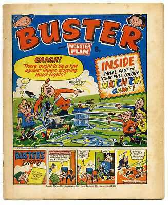 Buster 18 Mar 1978 (high) Faceache, Clever Dick, Leopard from Lime St, Gums