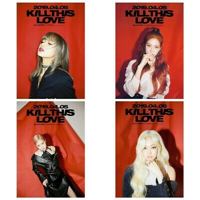 Hot BLACKPINK Wall Poster Art Painting KILL THIS LOVE LISA JENNIE JISOO ROSE US
