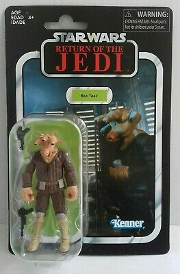 Star Wars Vintage Collection VC137 Ree Yees + deflector case