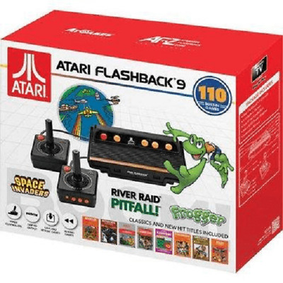 Atari Flashback 9 Game Console 110 Built-In Games Classic And New Hit Titles
