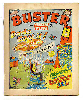 Buster 25 Jun 1977 (very high) Faceache, Clever Dick, Leopard from Lime St, Gums