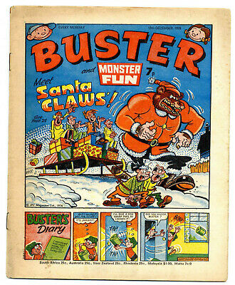 Buster 18th Dec 1976 (high) Faceache, Clever Dick, Leopard from Lime St, Gums
