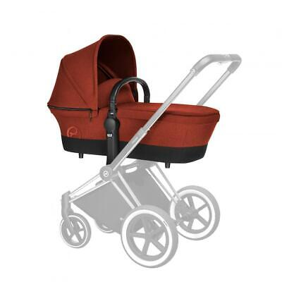 Cybex Priam Carrycot - Autumn Gold-Burnt Red