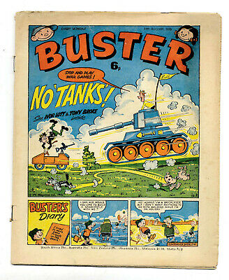 Buster 14th Aug 1976 (high) Faceache, Clever Dick, Leopard from Lime Street