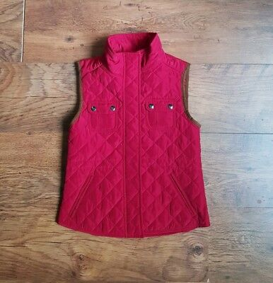 Girls Quilted Gilet Vest From ZARA Girl. Size M/134 cm/8-9 Years Great condition