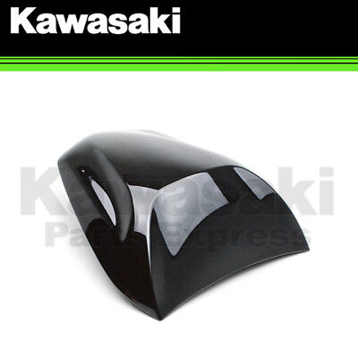 New 2015 - 2016 Genuine Kawasaki Ninja 650 Metallic Carbon Gray Seat Cowl