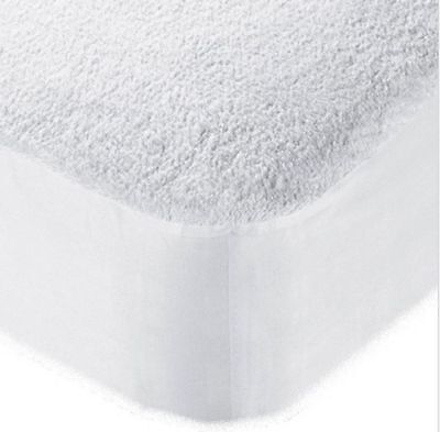 Waterproof Terry Towel Mattress Protector Fitted Sheet Bed Cover All Sizes- New