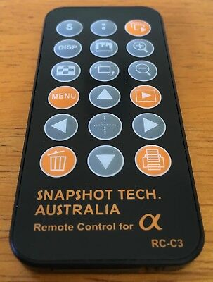 SNAPSHOT TECH Remote Control for Alpha RC-C3