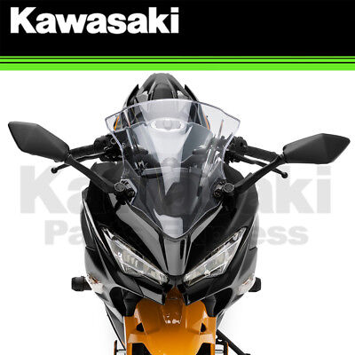 New 2018 - 2019 Genuine Kawasaki Ninja 400 Abs Tall Windshield 99994-1046