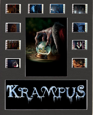 Krampus Replica Film Cell Presentation 10x8 Mounted 10 Cells
