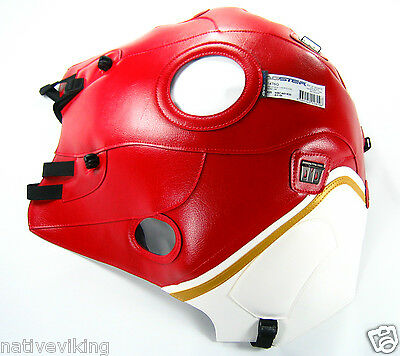 Moto Guzzi 1200 SPORT Bagster TANK PROTECTOR COVER new white red 1476G
