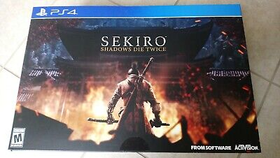 Sekiro: Shadows Die Twice Collector's Edition PS4 New Sealed w/ Pre Order Bonus