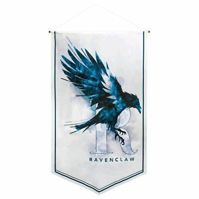 Harry Potter Ravenclaw Watercolour Satin Banner NEW