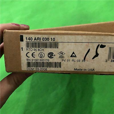 New In Box Schneider 140ARI03010 Modicon RTD IN 8CH 140-ARI-030-10