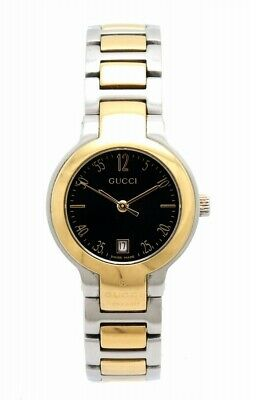 df096b449bd ESTATE GUCCI GOLD Plated Stainless Steel Link Men s Watch NR ...