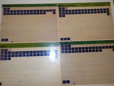 Lot Microfiches Mbk 51 Hard Rock.