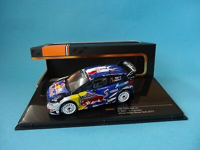 OGIER 1st RALLY MONTE CARLO 2017-1//43 NEW IXO RAM641 FORD FIESTA RS WRC #1