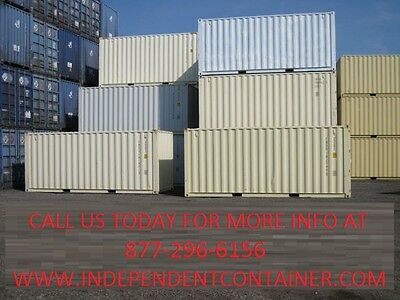 New 20' Shipping Container  Cargo Container  Storage Container in Jacksonville