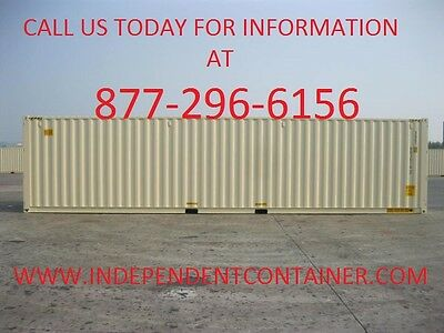New 40' Shipping Container  Cargo Container  Storage Container in Charleston SC