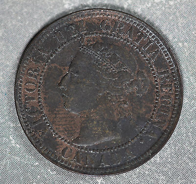 Better Date 1892 Canada Large Cent - Nice Condition