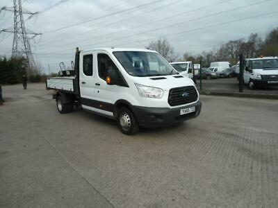 2016/65 Ford Transit 2.2TDCi ( 125PS ) RWD DRW Double Cab 1-Way Tipper 350 L3H1