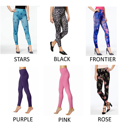 4711e7251c618 First Looks by HUE Women's Seamless Leggings, Assorted Colors and designs  NWT