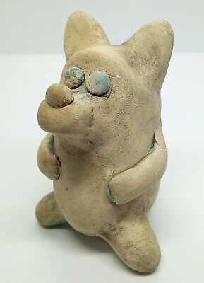 Whistle Wolf / Goat / Clay Ocarina Toy Zoomorphic Fantastic sound 1800-1900AD.