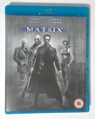 The MATRIX BLU RAY Starring Keanu Reeves Laurence Fishburne