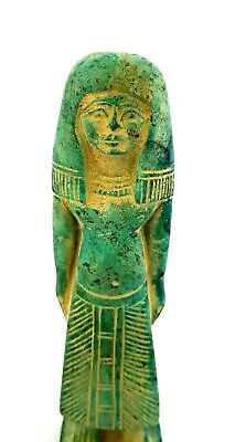 Beautiful Rare Hathor Ancient Egyptian Isis Big statue Antique Stone Collectible