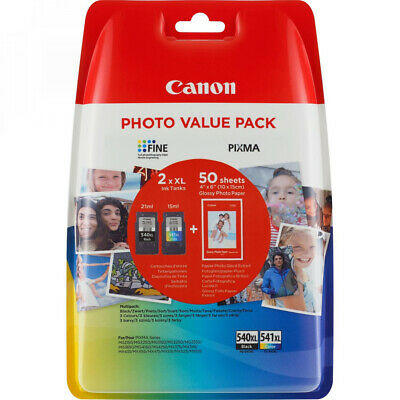 Pg-540xl/Cl541xl Photo Value Bl
