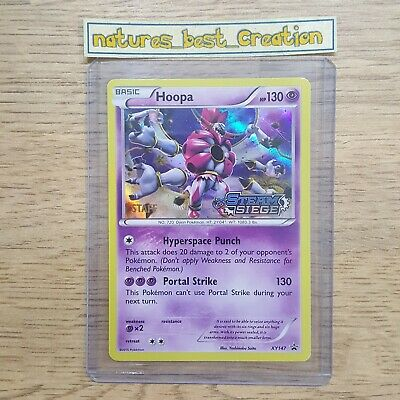 POKEMON HOOPA XY147 PROMO PRERELEASE HOLOFOIL CARD STEAM SIEGE