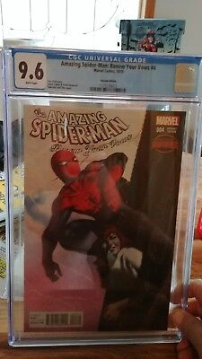 Amazing Spider-Man Renew Your Vows Comic #4 NM 1:25 Dell'Otto Variant CGC 9.6