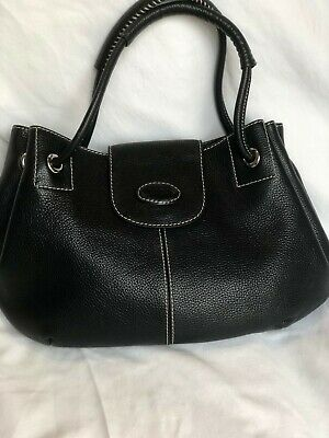 9f72aafec3e NWT AUTHENTIC TOD'S Flower Studded Bag Black Retails $2425 ...
