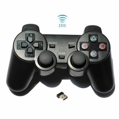 Wired USB 2.0 Game Controller Gamepad Joypad for PC Laptop Computer Black Gift E