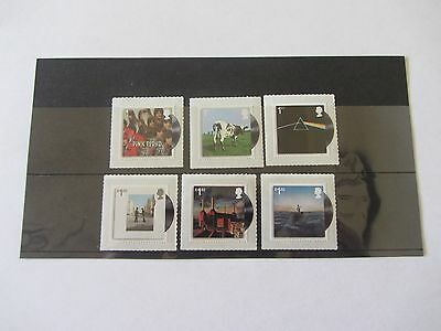 2016 Gb Pink Floyd Live Stamp Set Of Six Unmounted Mint(Mnh)